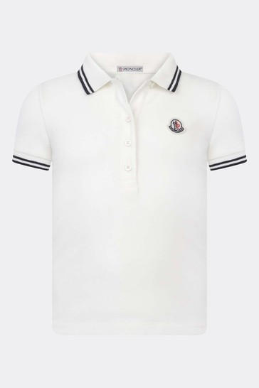 Girls Branded Polo Top