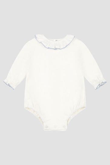 Baby Boys Cream Bodysuit