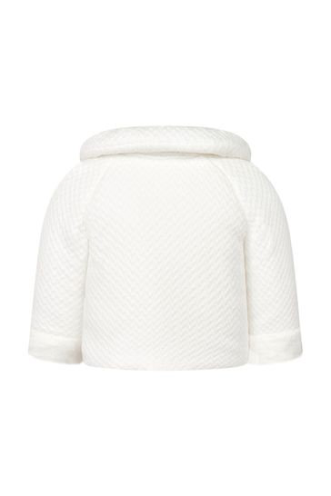 Baby Girls Cream Coat