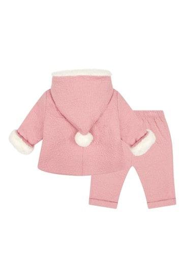 Baby Girls Pink Jogger Set