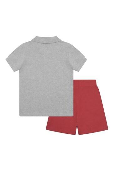 Boys Pique Polo & Shorts Set
