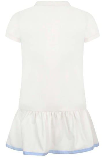 Girls Cotton Polo Dress