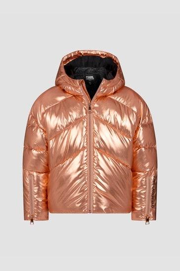 Girls Bronze Jacket