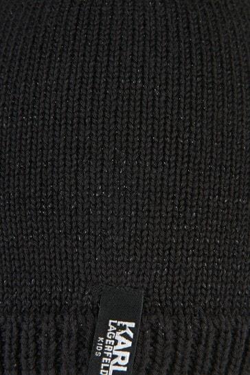 Karl Lagerfeld Girls Black Hat