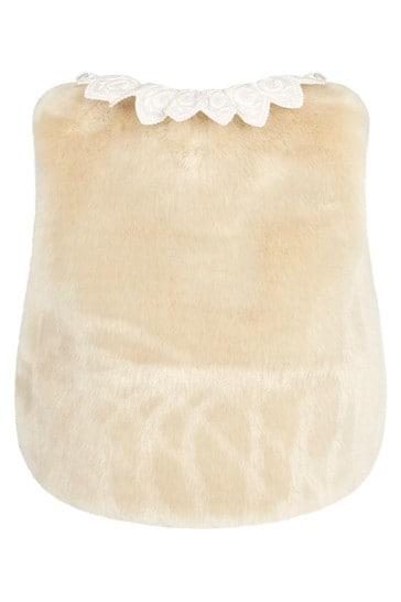 Baby Girls Ivory Gilet