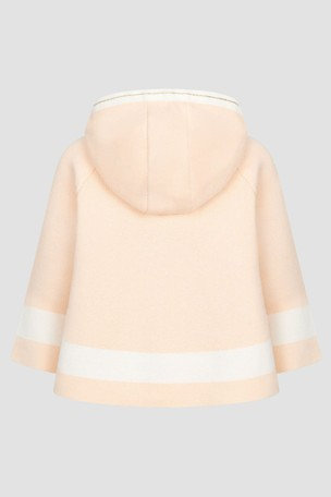 Baby Girls Pink Cape