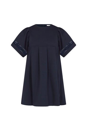 Girls Navy Dress