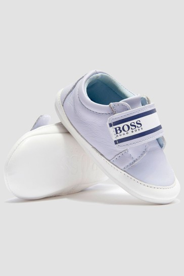 Baby Boys Blue Trainers
