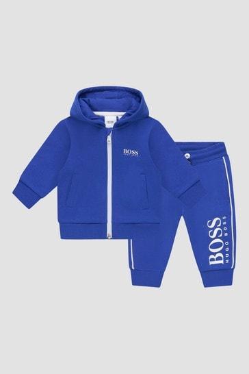 Baby Boys Blue Tracksuit
