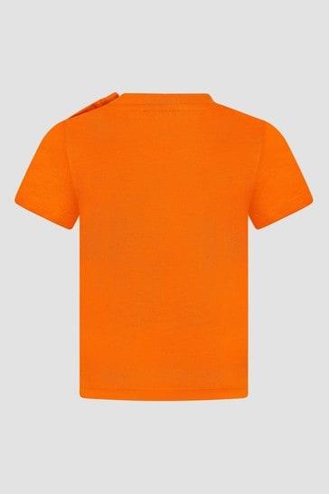 Baby Boys Orange T-Shirt