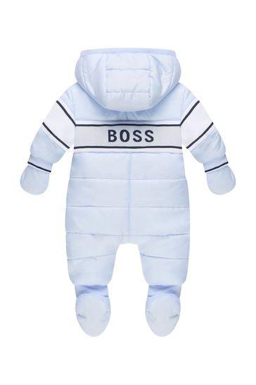 Baby Boys Blue Snow Suit