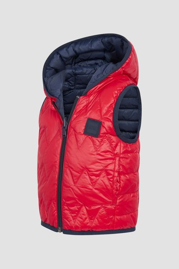 Baby Boys Red Gilet