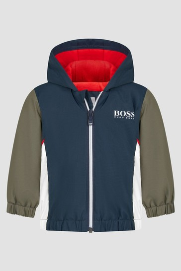 Baby Boys Navy Jacket