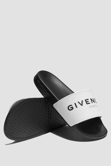 Kids White Sandals