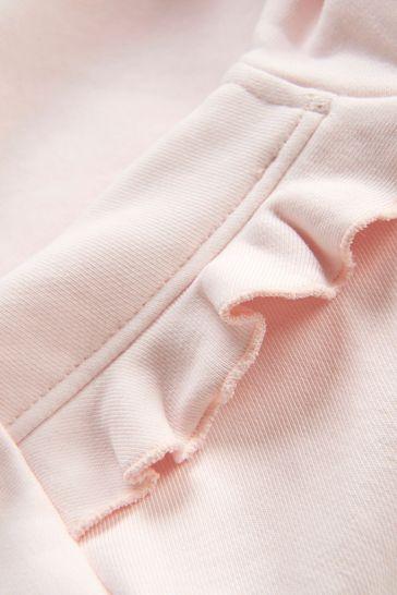 Baby Girls Pink Sweat Top