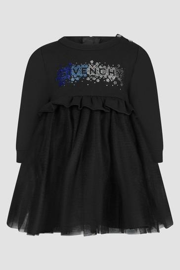 Baby Girls Black Dress