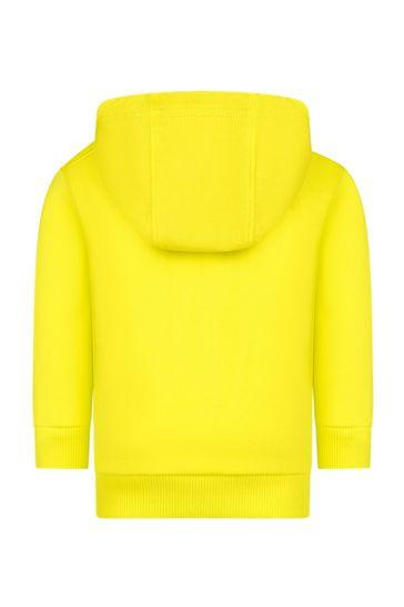 Baby Boys Yellow Hoodie