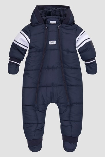 Baby Boys Navy Snow Suit