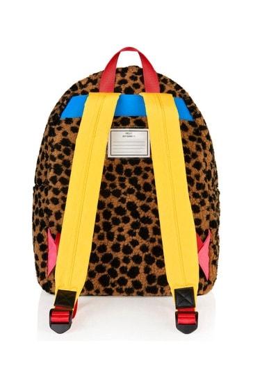 Girls Animal Print Backpack