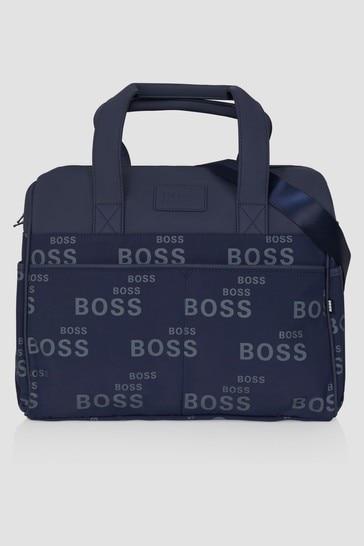 Baby Navy Changing Bag