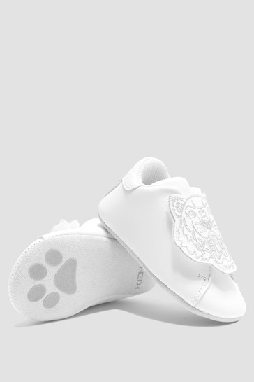 Baby Boys White Shoes