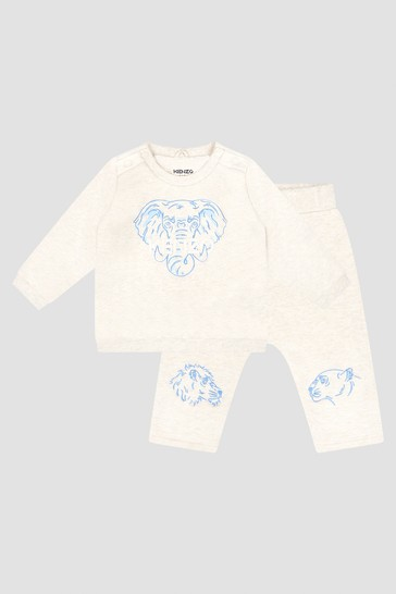 Baby Boys Ivory Tracksuit