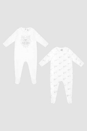 Baby White Babygrow Gift Set