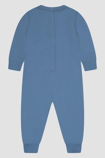 Baby Boys Blue Rompersuit
