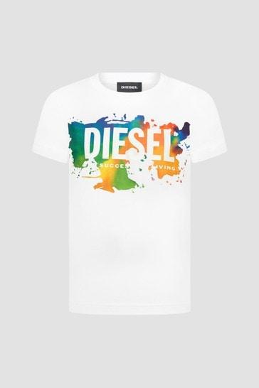 Boys White T-Shirt