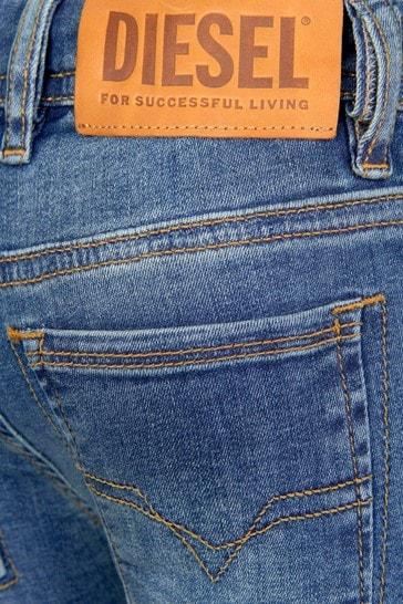 Diesel Boys Blue Jeans