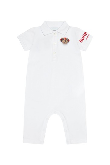 Baby White Rompersuit