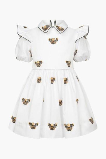 Baby Girls White Dress
