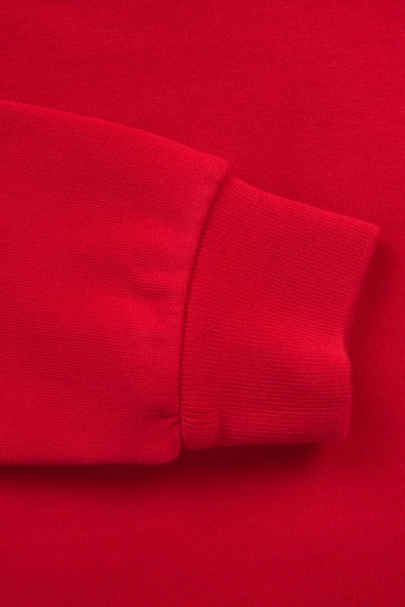 Boys Red Sweat Top