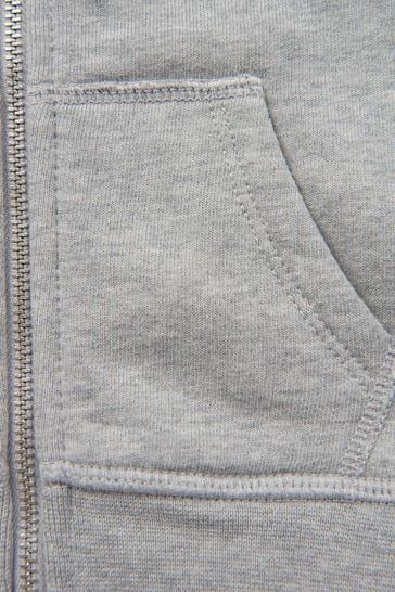 Baby Boys Grey Sweat Top
