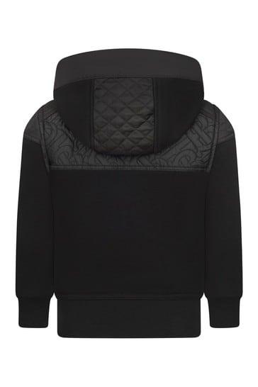 Black Sweat Top