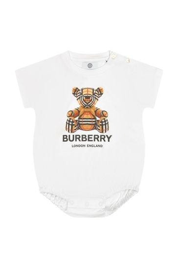 Baby White Bodysuit