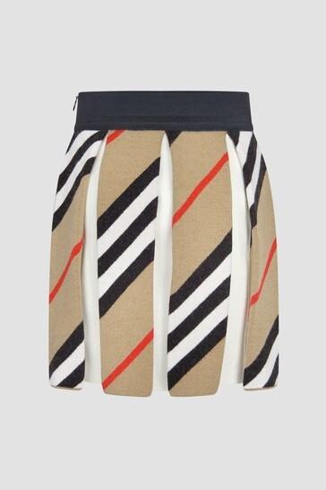 Girls Beige Skirt