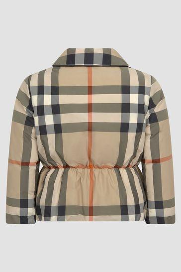 Girls Beige Jacket