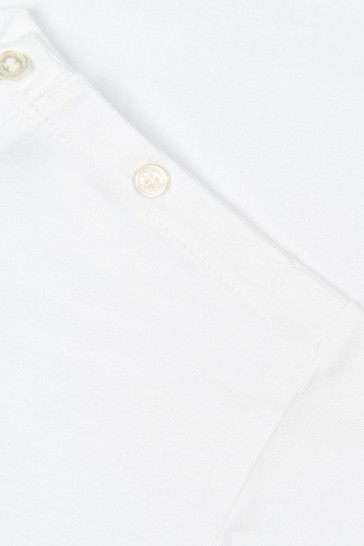 Baby White Sleepsuit