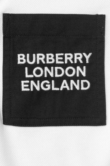 Boys White Polo Shirt