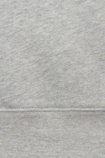 Unisex Grey Sweat Top