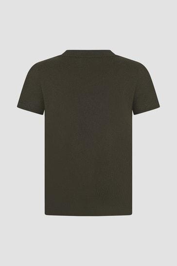 Boys Khaki T-Shirt