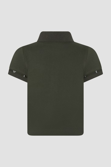 Baby Boys Khaki Polo Shirt