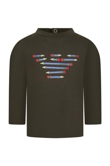Baby Boys Black T-Shirts 3 Pack