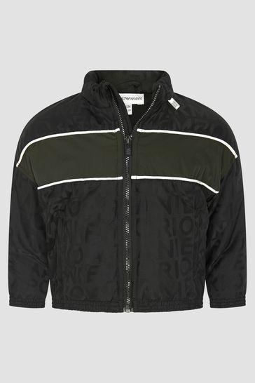 Baby Boys Black Jacket