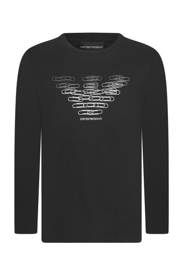 Boys Black T-Shirts 3 Pack