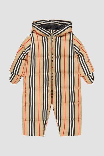 Baby Beige Snowsuit