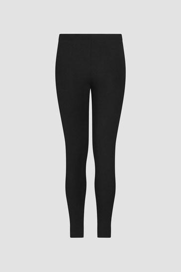Girls Black Leggings