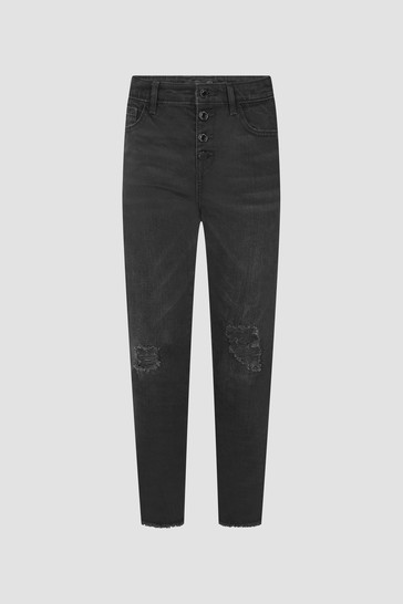 Girls Black Jeans