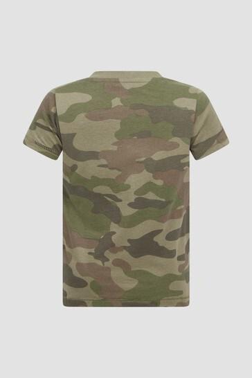 Baby Boys Khaki T-Shirt